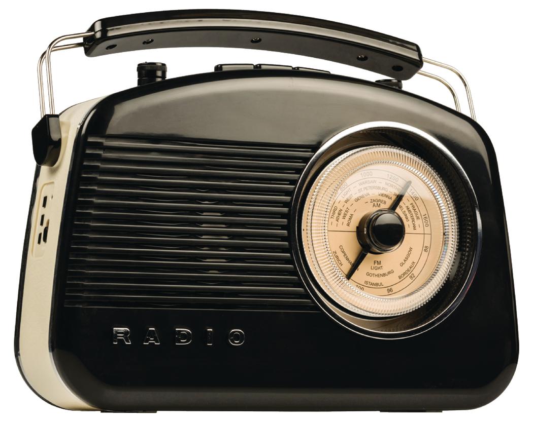 König HAV-TR800BL Retro Radio met Bluetooth