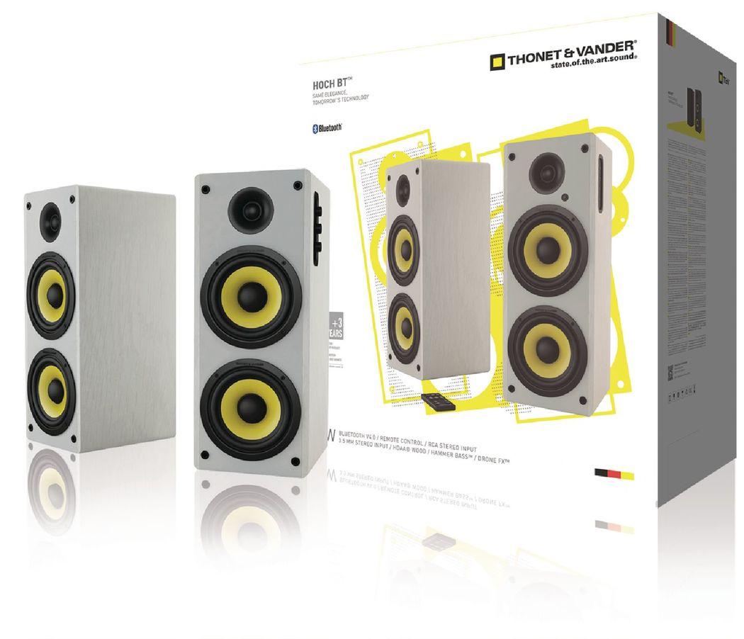 Thonet & Vander Hoch Bluetooth 2.0 luidsprekerset wit