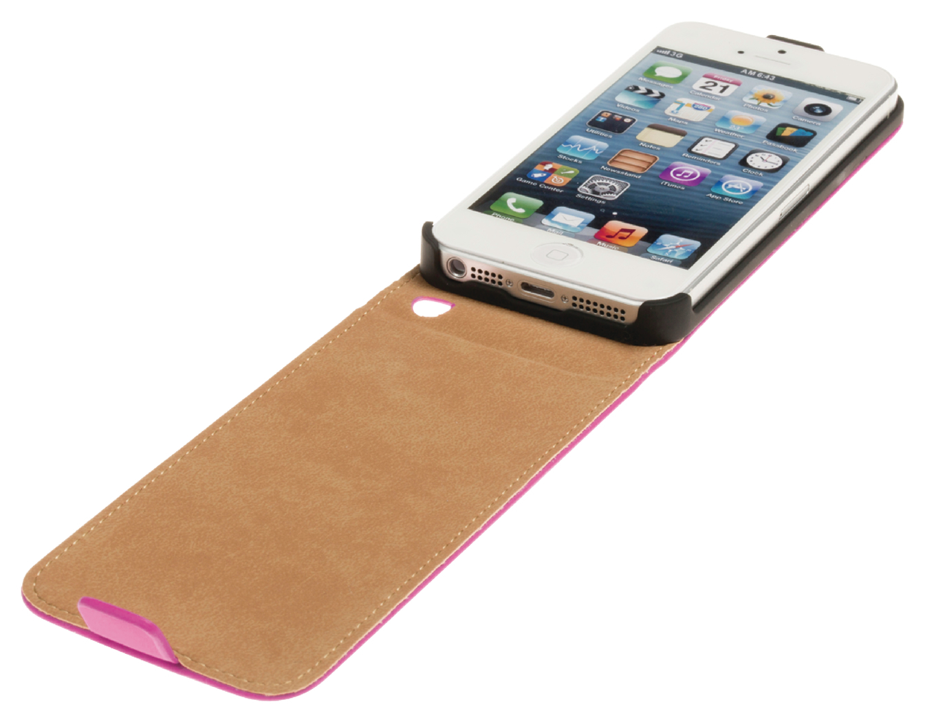 Fliphoes iPhone 5-5S roze