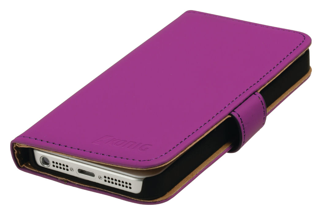 Portefeuillehoes iPhone 4-4S roze