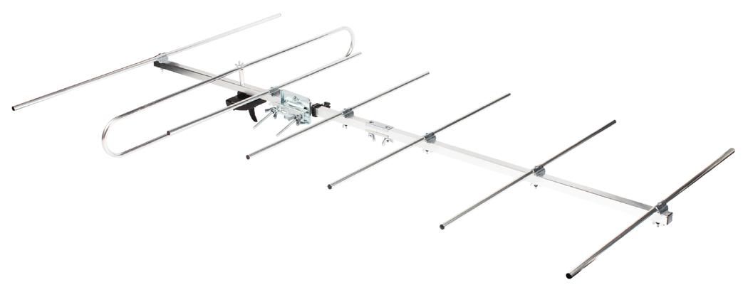 VHF TV-antenne voor buiten, voor DVB-T, TV, DAB en FM-radio van 8 tot (ANT-VHF7-KN)