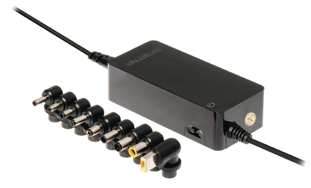 Valueline Universele notebook-adapter 90 W (CSUNA90RBL)