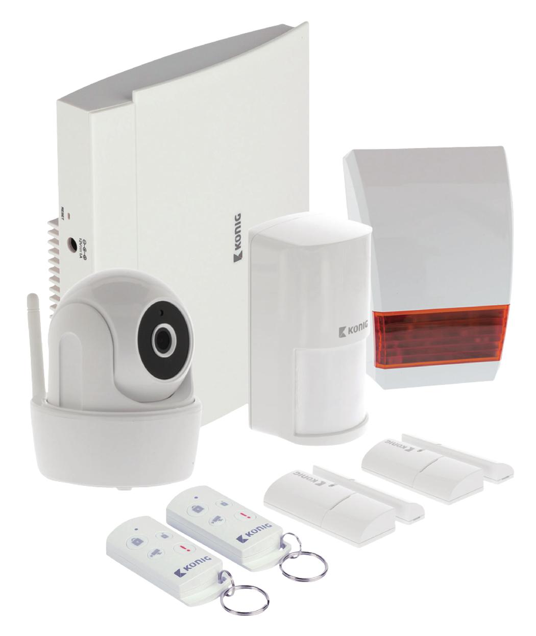 Smart home beveiligingsset