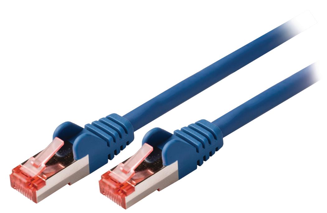 Valueline Netwerkkabel FTP CAT6 5 meter Blauw