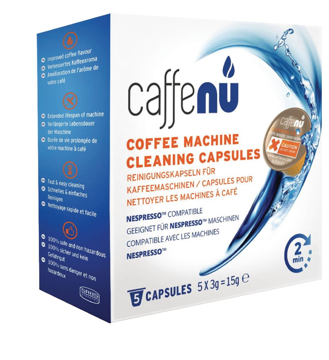 Schoonmaak capsules voor Nespresso koffie machine