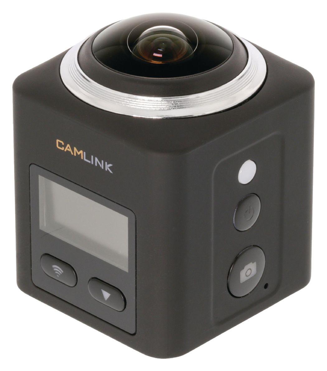 Camlink 360° 2K panoramische actiecamera Wi-Fi