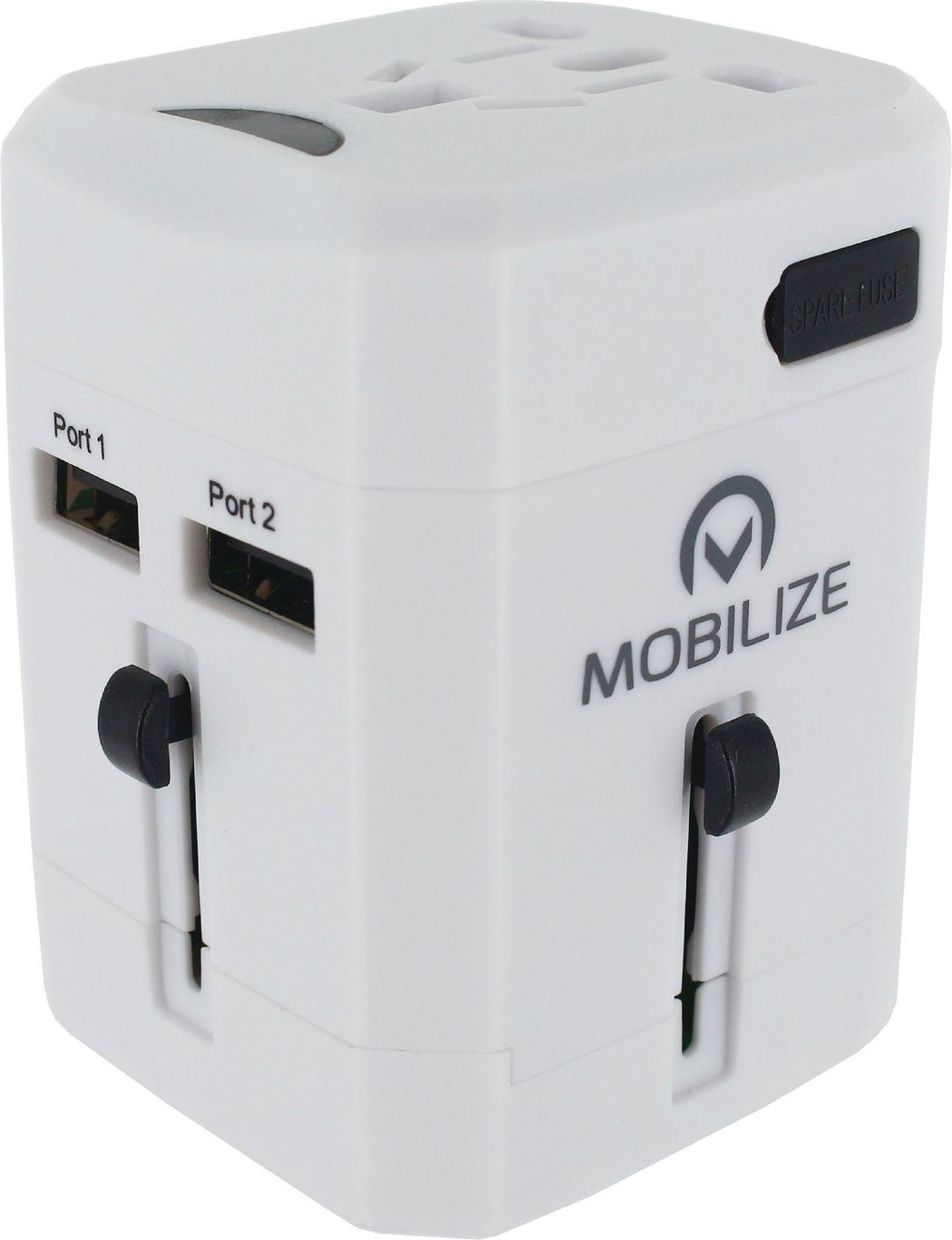 Mobilize Reislader 2x USB