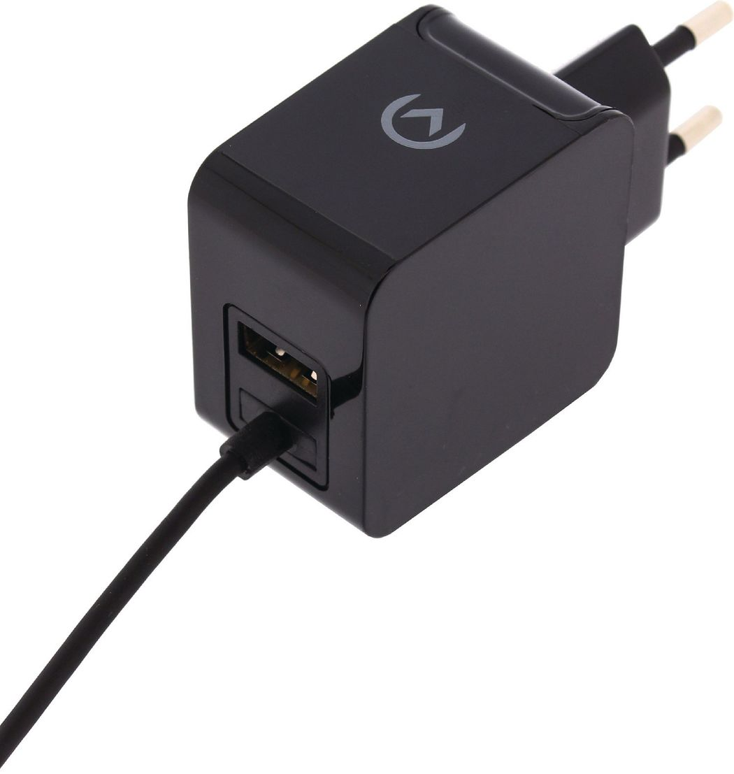 Wall Charger Micro USB+USB, 1m