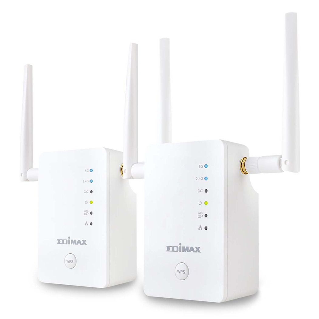 Edimax Gemini RE11 AC1200 Access Point.Roaming Kit