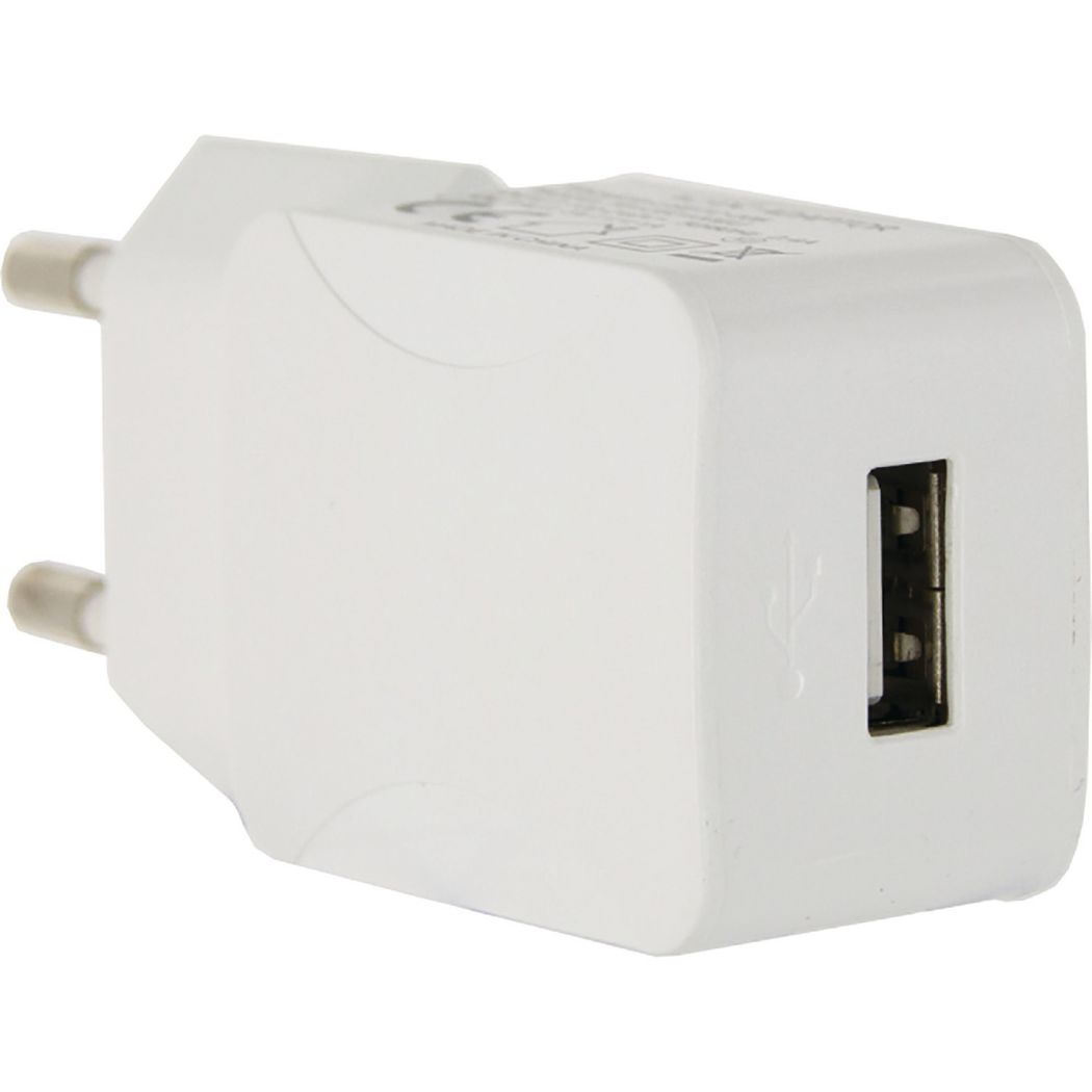 Mobilize Travel Charger Single USB 1.0A White