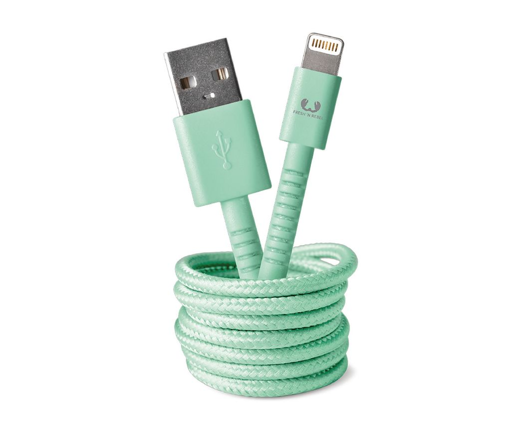 Apple Lightning FabCable 150c Pepermint