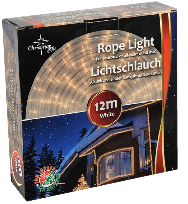 Lichtslang wit (12 meter)