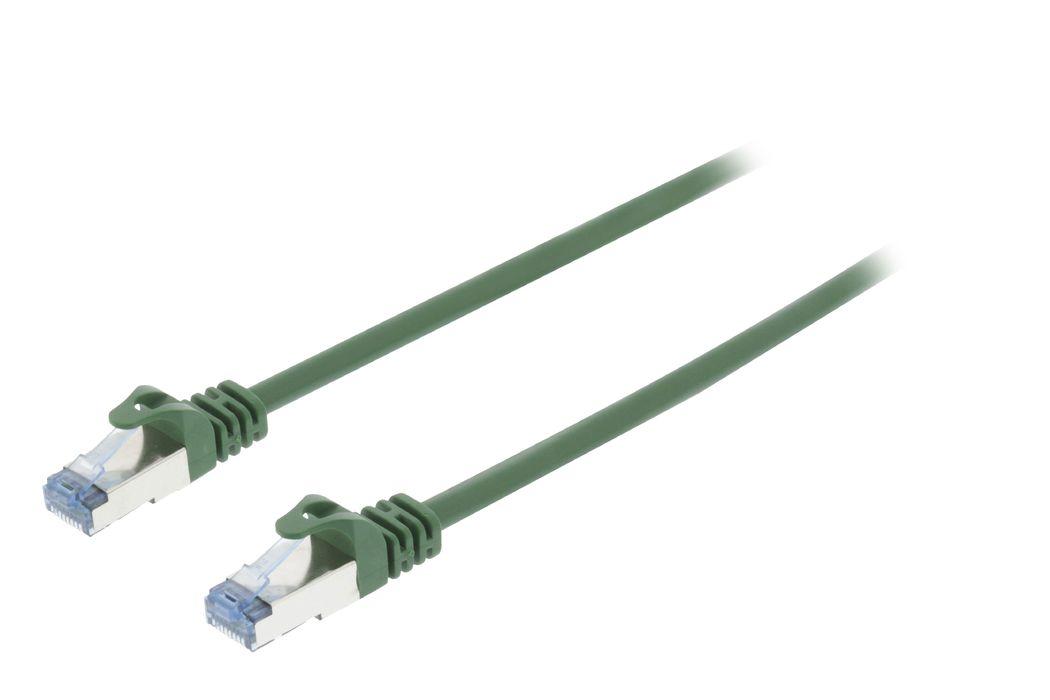CAT6a S-FTP Netwerkkabel RJ45 (8-8) Male RJ45 (8-8) Male 10.00 m Groen