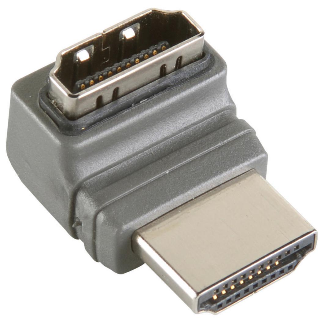 270° Haakse Hoge Snelheids Hdmi Adapter Met Ethernet