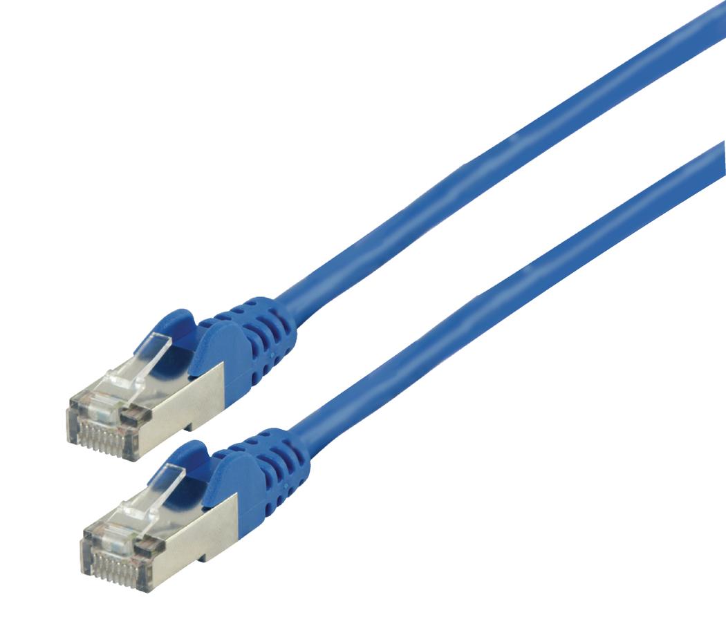 FTP CAT 6 netwerkkabel 20,0 m blauw