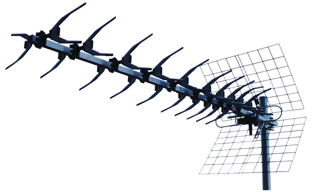 König Ant-uhf60l-kn Uhf Antenne 13 Elementen