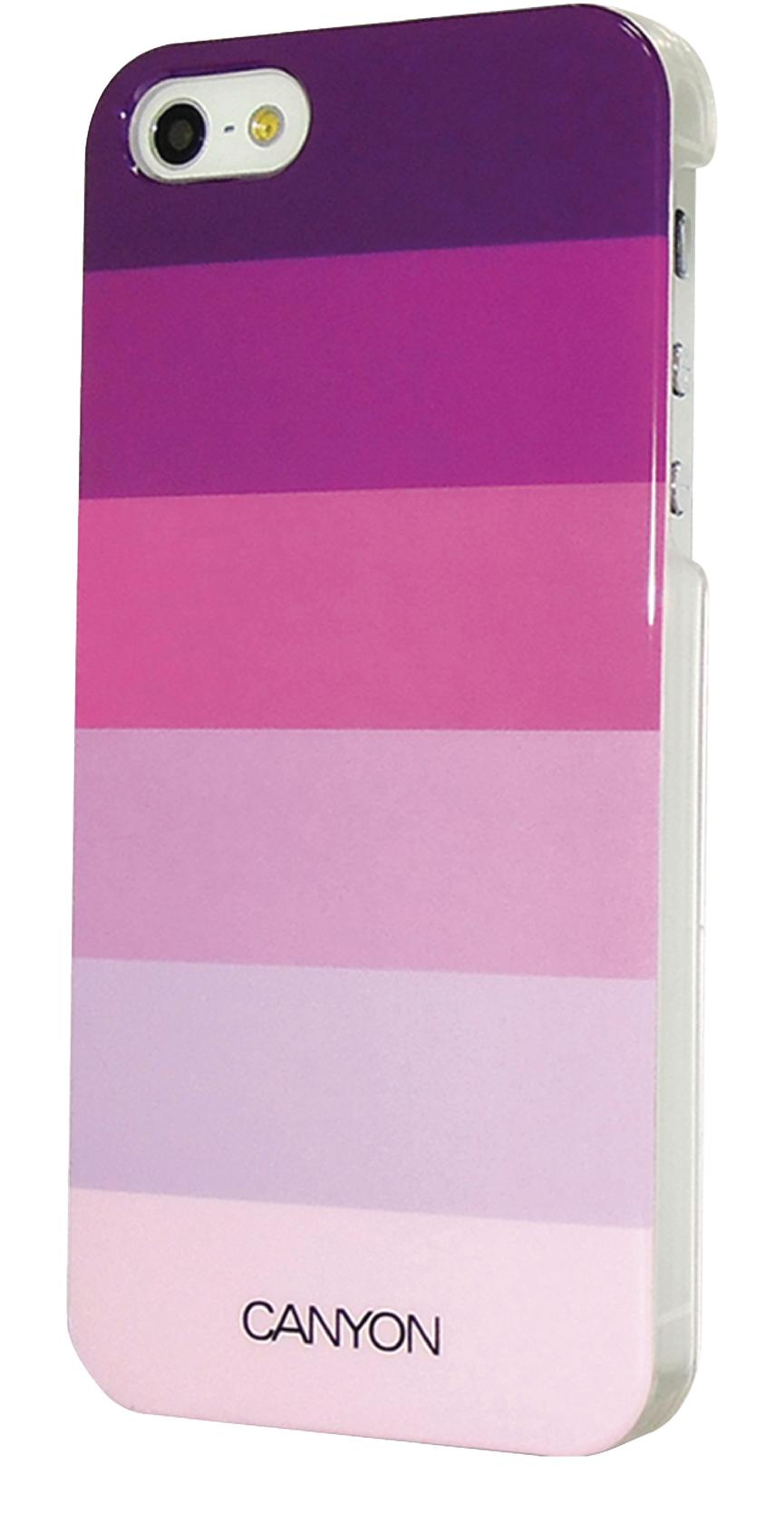 Canyon Cna-i5c02p Iphone 5 Hard Cover Case met Stylus en Screen Protector Paarstinten
