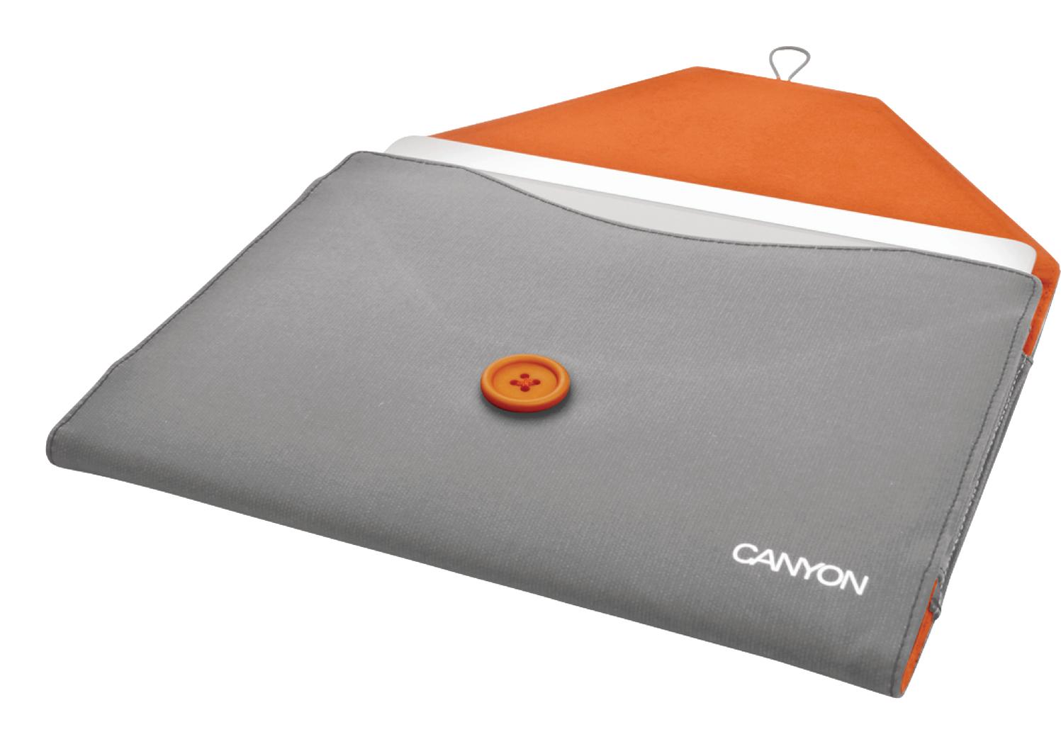 Canyon Cna-ips01 gr Ipad 2-3-4 Beschermhoes Grijs