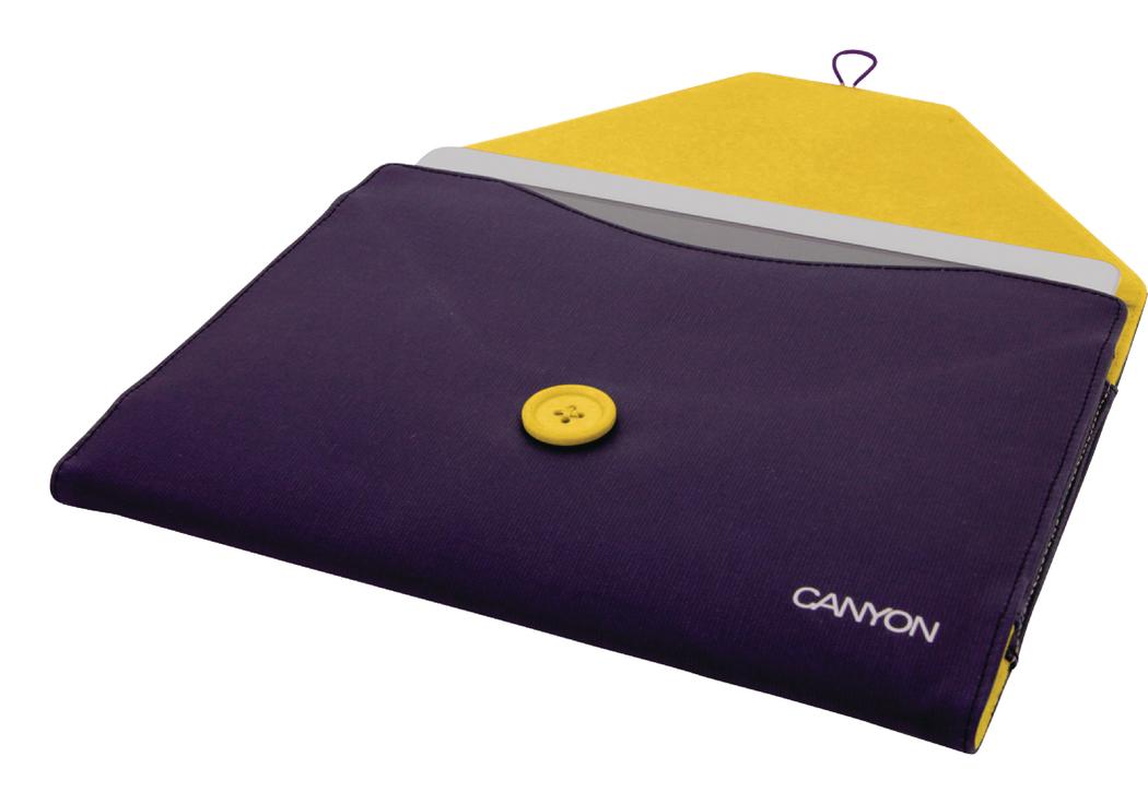 Canyon Cna-ips01 pu Ipad 2-3-4 Beschermhoes Paars