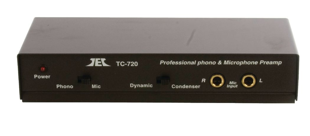Fixapart Pre Amp-mic Professionele Phono & Microfoon Voorversterker